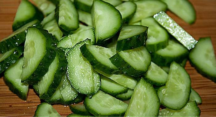 огурцы для греческого салата
