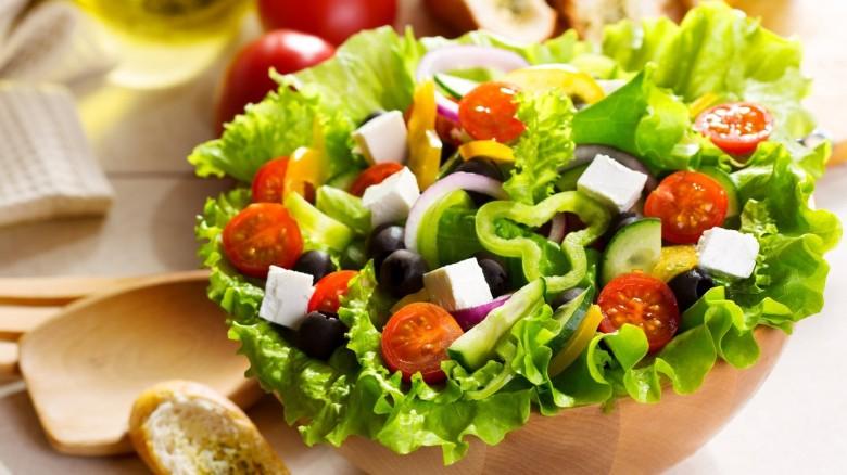 Салат греческий — классический. Приготовление в домашних условиях!
