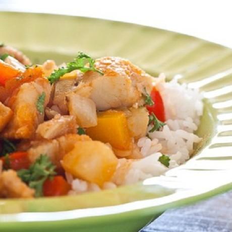Бакало: соленая треска с картофелем на рисе