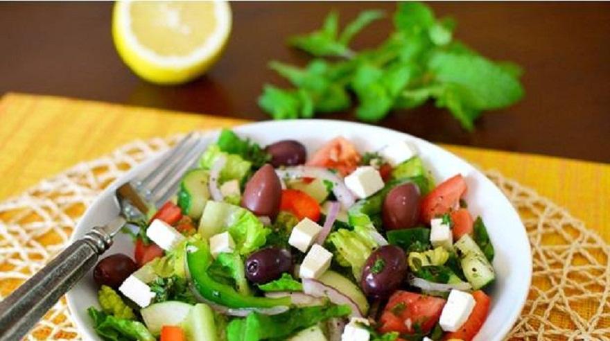 Турецкие салаты.фото