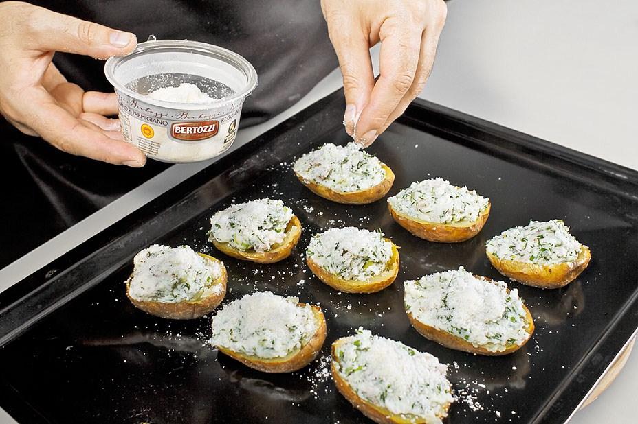 Печеная картошка в мундире в духовке рецепт с пошагово в