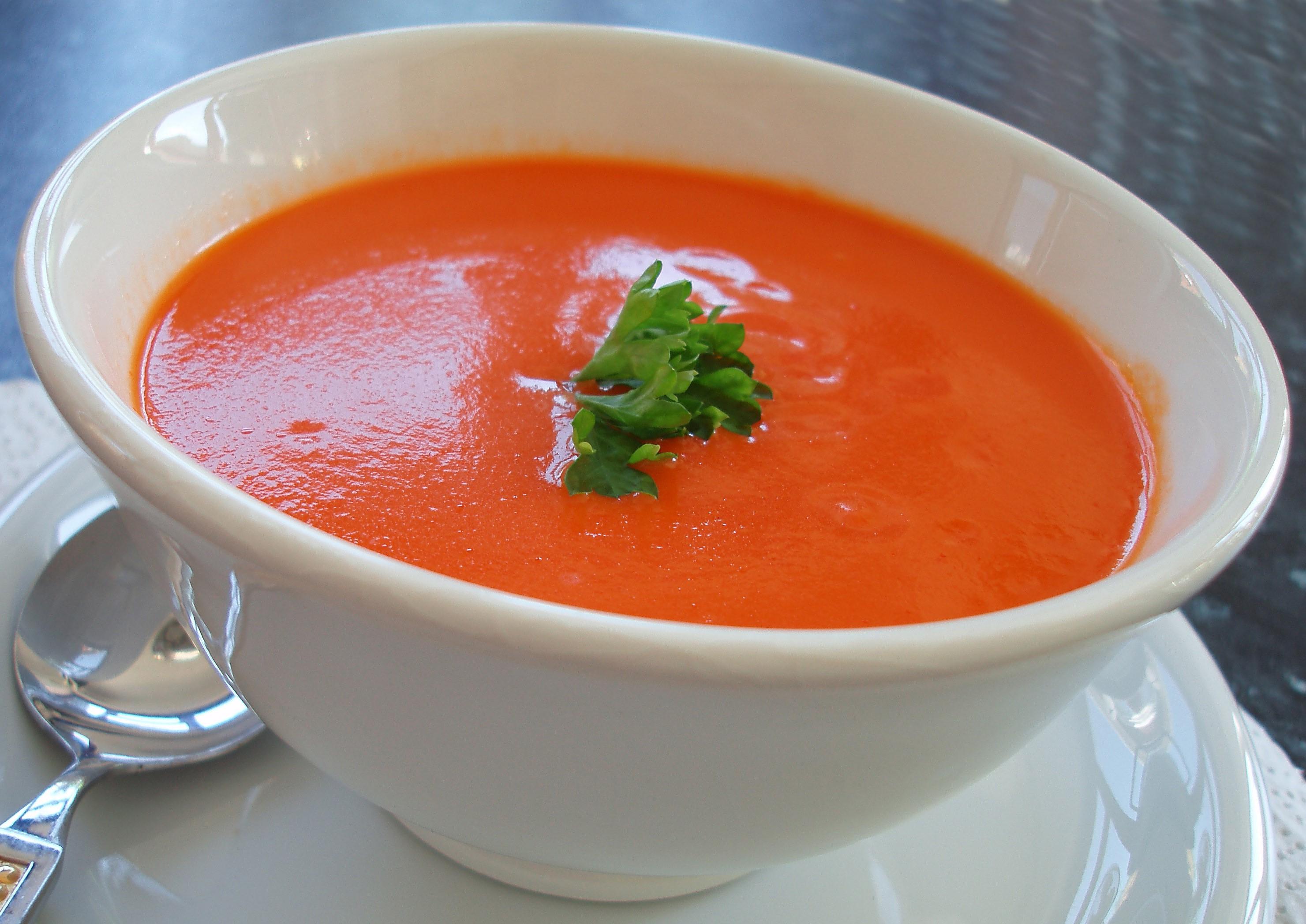Супы пюре томатныйы с фото