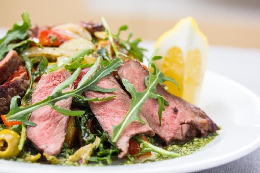 Рецепты салатов с говядиной рецепты