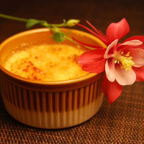 Десерт крем брюле «Африканское солнце»