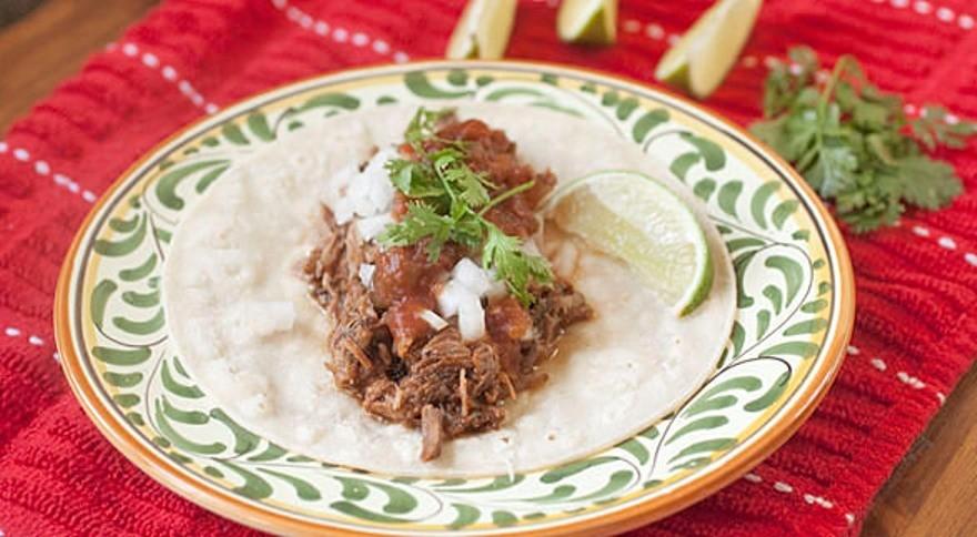 Барбекю из говядины по-мексикански в мультиварке