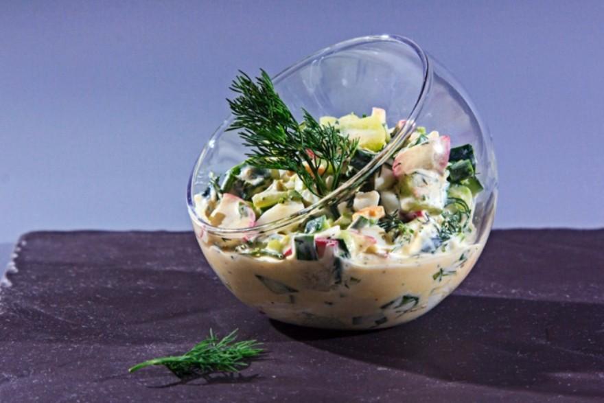 Салат из огурца «Летний»