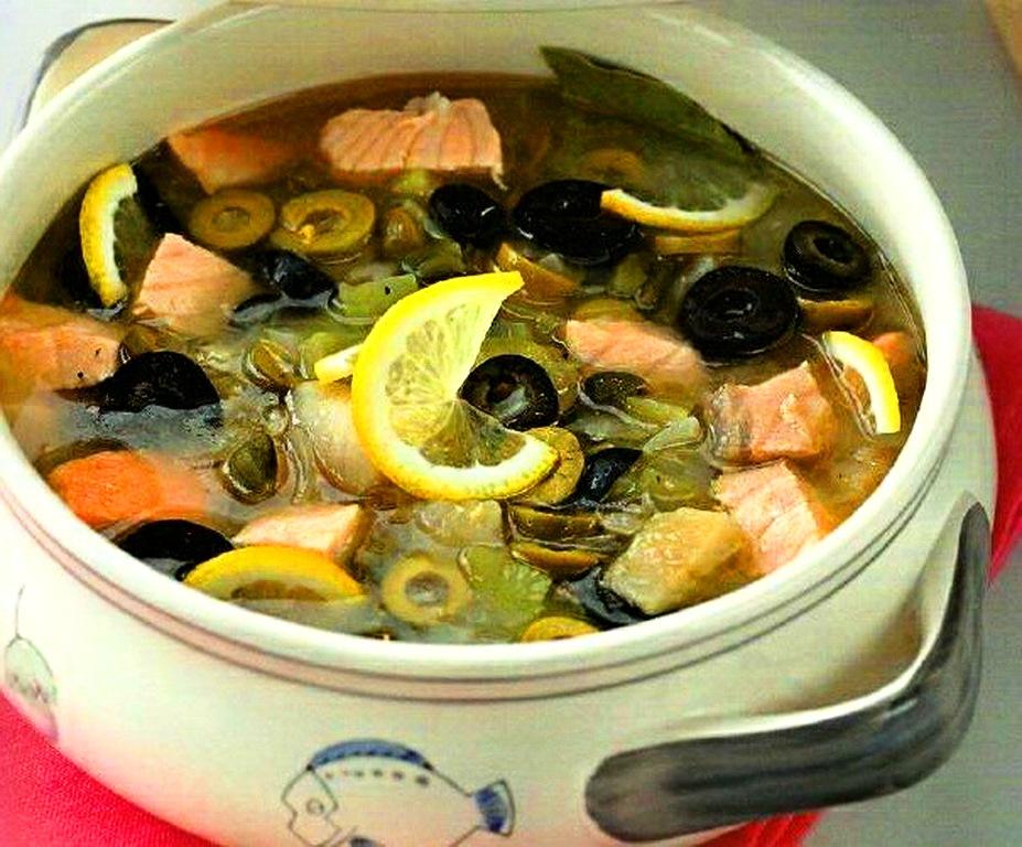 Солянка рыбная сборная рецепт пошаговый с