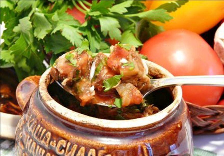 Чанахи из баранины в горшочках рецепт