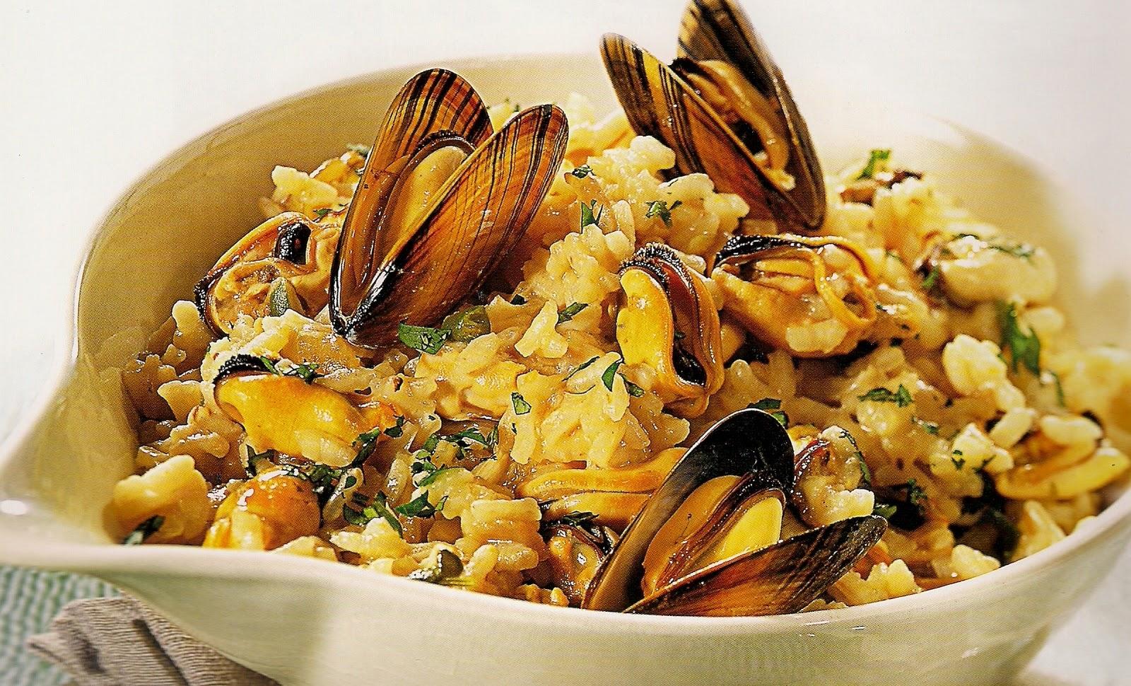 Плов из морепродуктов рецепты