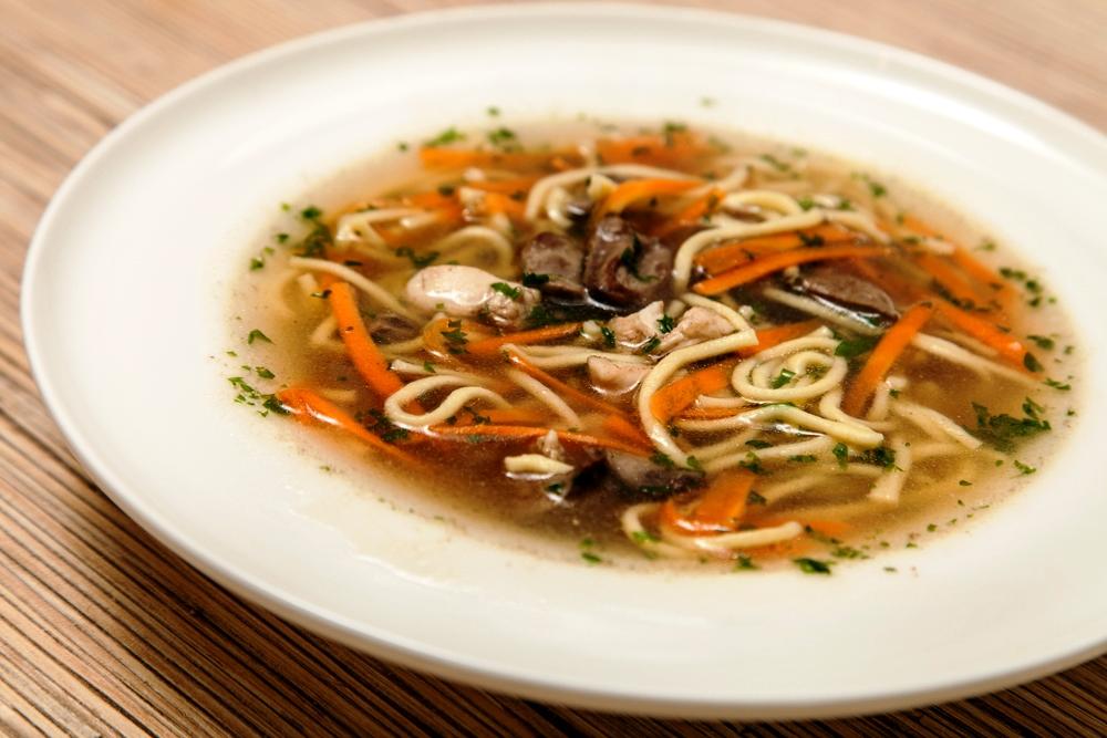 Суп лапша куриная с грибами рецепт с пошагово
