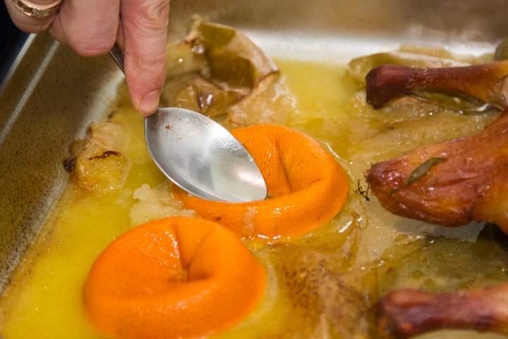 Утка с апельсинами пошаговый рецепт с