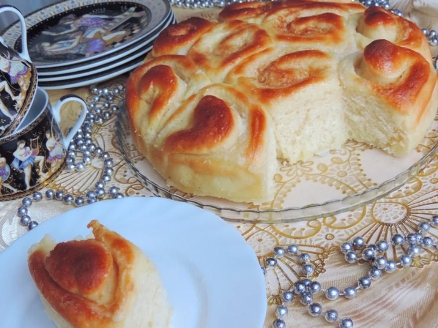 Рецепт: Пирог «Осиное гнездо»