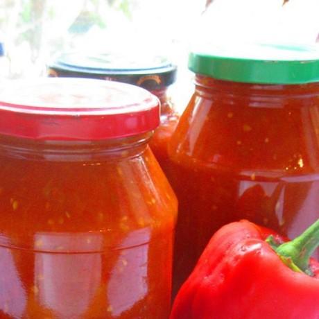 Консервированные помидоры с паприкой