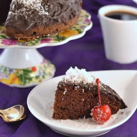 Шоколадный пирог «Проще простого»