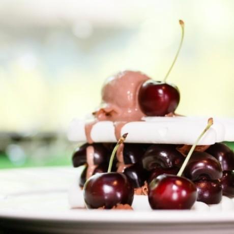 Меренга с шоколадным кремом