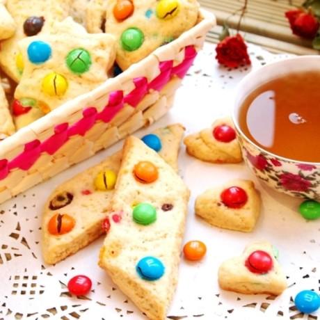 Песочное печенье с ммдемс