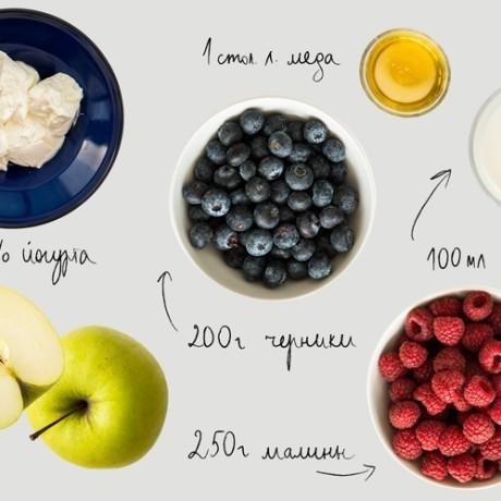 7 супер рецептов фруктовых смузи в блендере