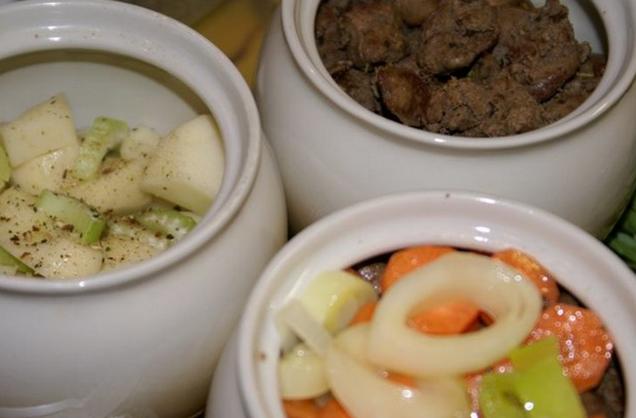 горшочки с овощами в духовке рецепты с фото