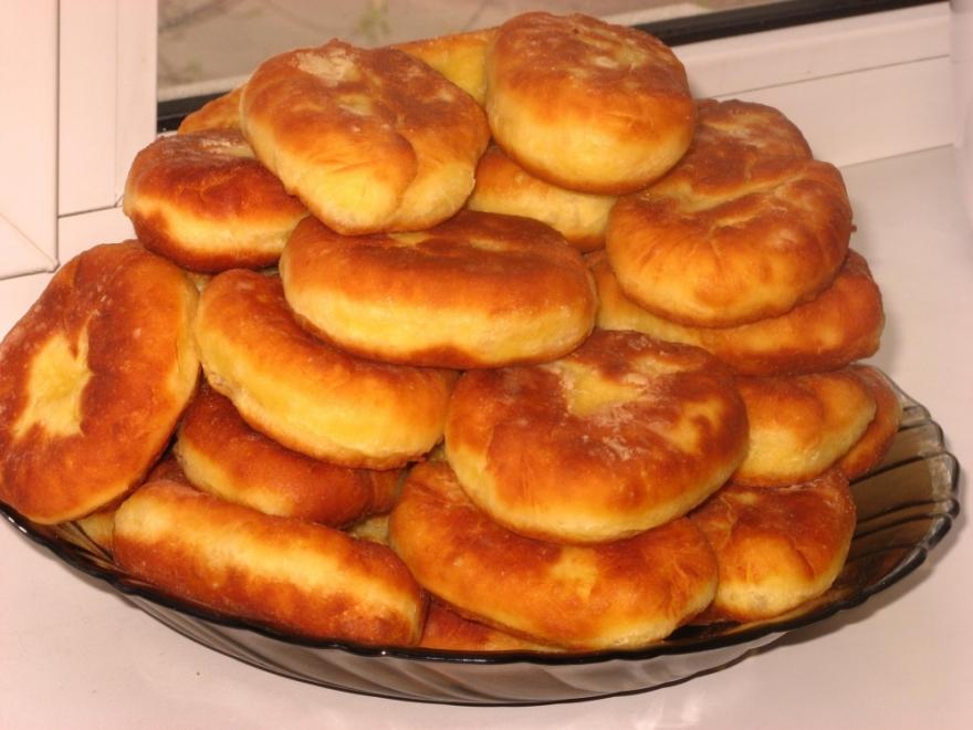 Жареные пирожки с картошкой фото