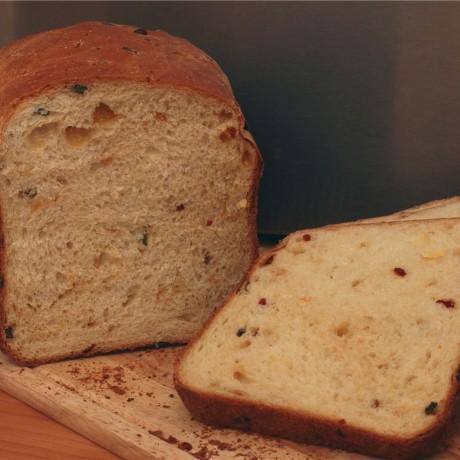 Луковый хлеб в хлебопечке Мулинекс