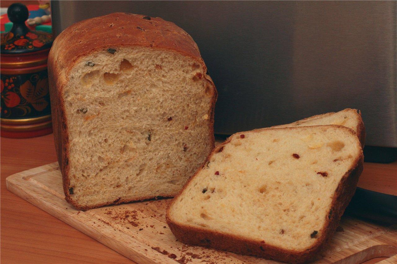 хлеба в с дрожжами Рецепт сырыми выпечки хлебопечке