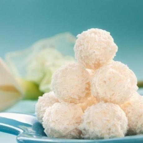 Рафаэлло домашнее и орехами и кокосовой стружкой