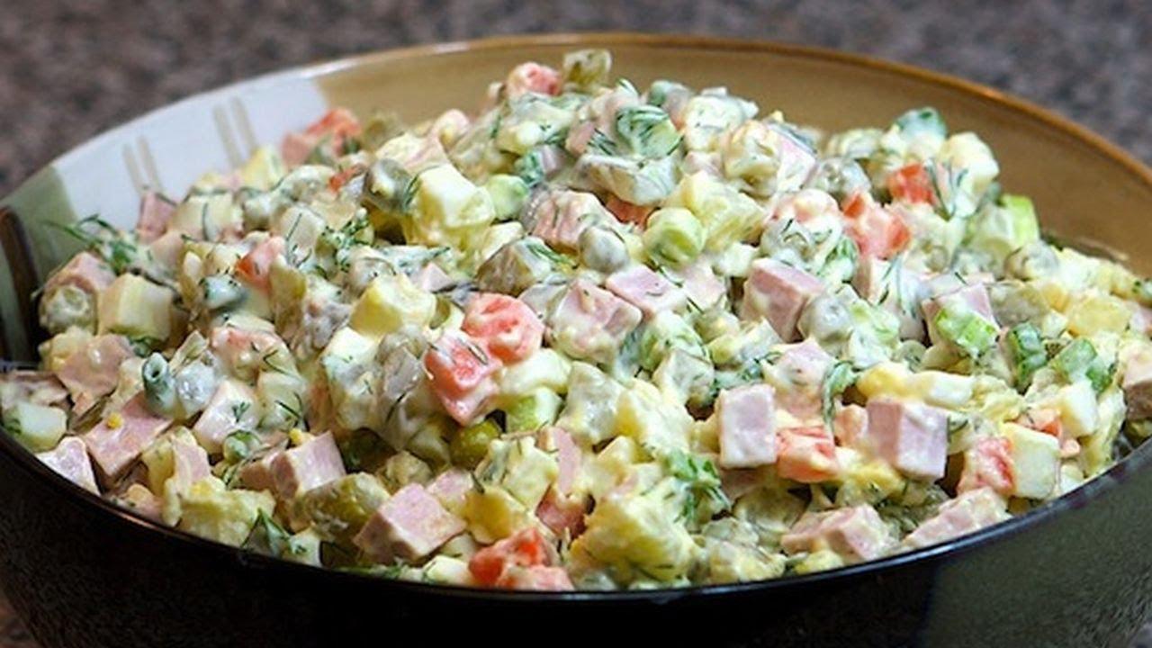 сколько рецептов салата оливье