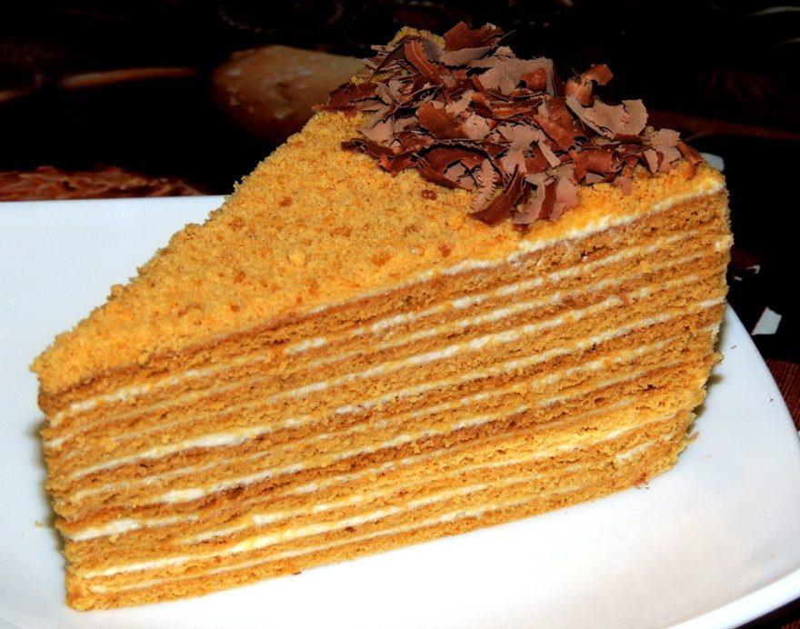 Торт Медовик : рецепт с пошаговыми фото