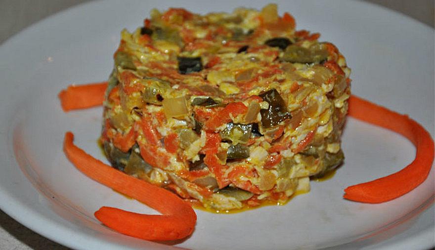 салат с языком рецепт классический рецепт пошаговый