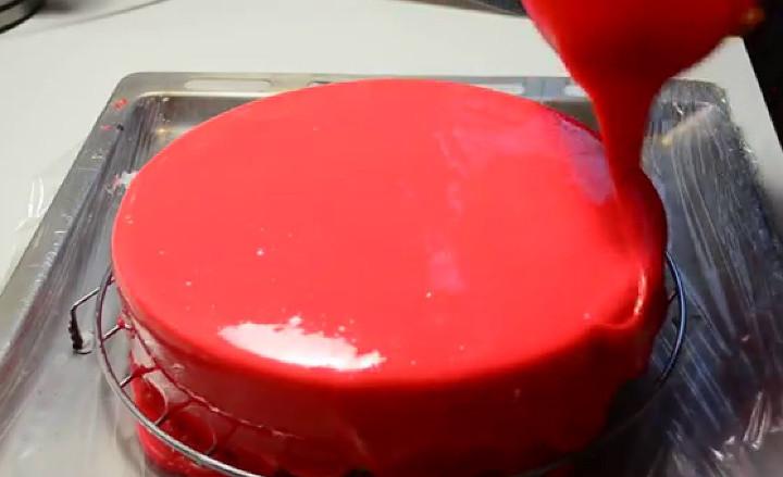 Зеркальная глазурь в домашних условиях рецепт с фото
