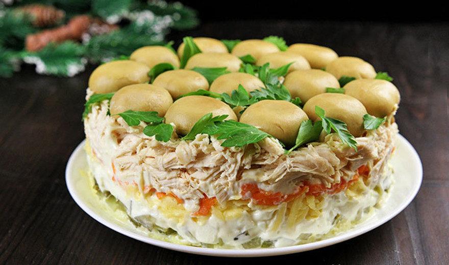салат с валуями рецепт