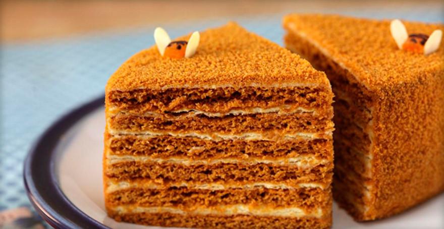 Торт рыжик рецепт в домашних