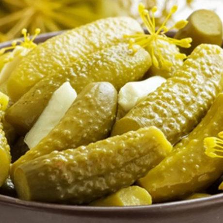 Маринованные огурцы на зиму с лимонной кислотой