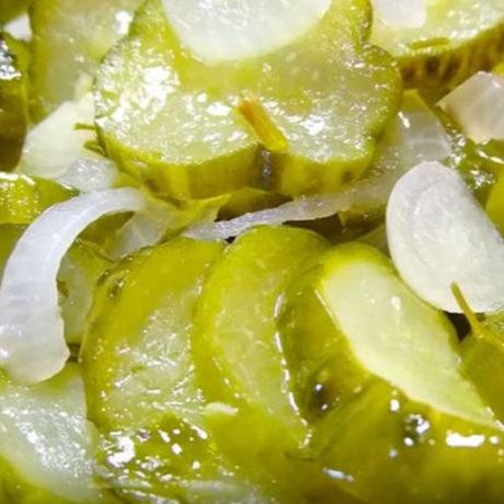 Огурцы резанные на зиму