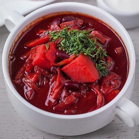 Борщ украинский рецепт классический