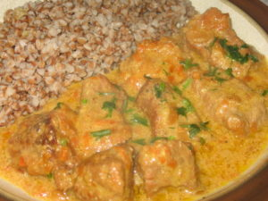 Рецепт подлива с мясом для гречки